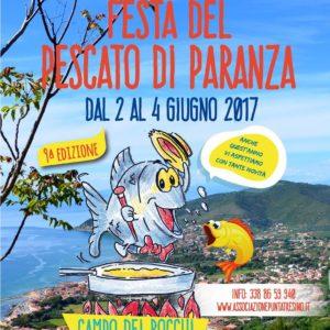 Festa Del Pescato di Paranza non edizione 2-4 giugno 2017