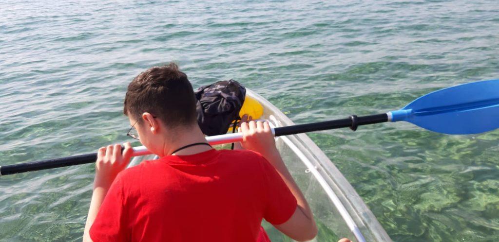 noleggio canoe cilento