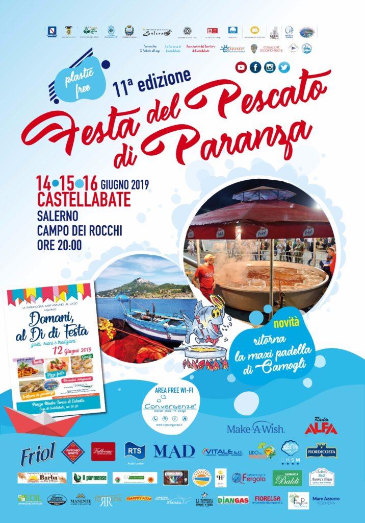 Festa pescato di paranza 14 15 16 giugno 2019 Santa Maria di Castellabate Salerno