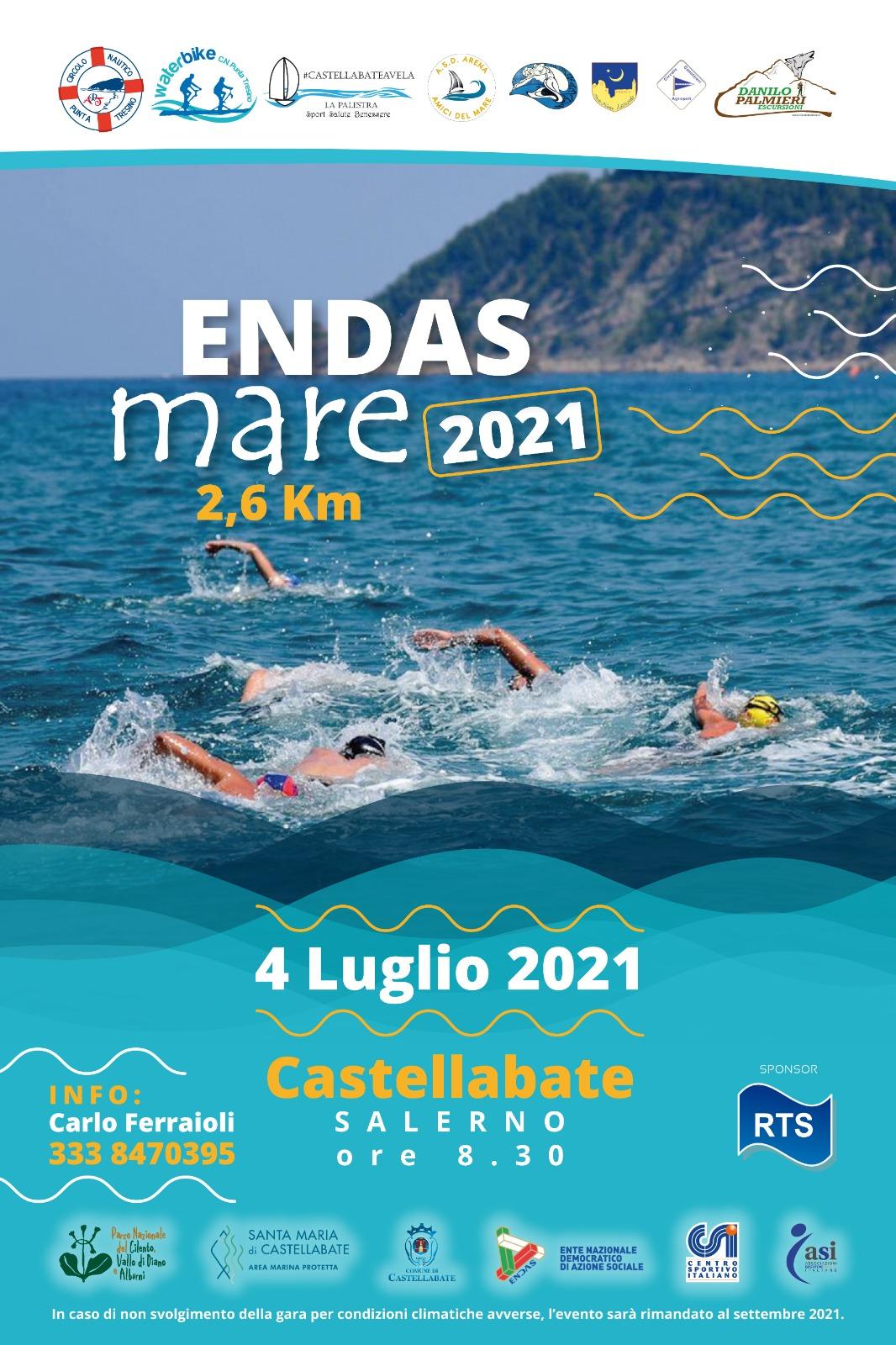Gare di Nuoto in mare nel Golfo di Castellabate 4 Luglio 2021